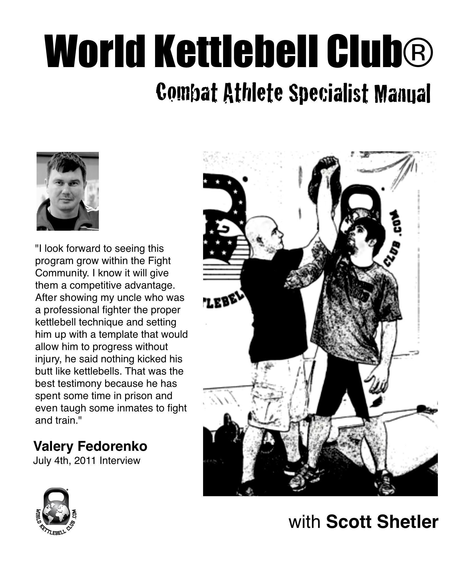 Kettlebell Training For Athletes: Scott Shetler's Extreme Conditioning & Fitness Blog
